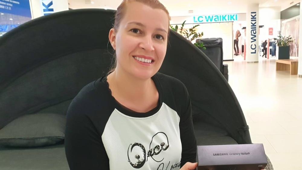 Снимка: Честито на Надя Симеонова, която печели в кампанията Take Note