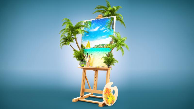 Снимка: Нарисувай си свое море