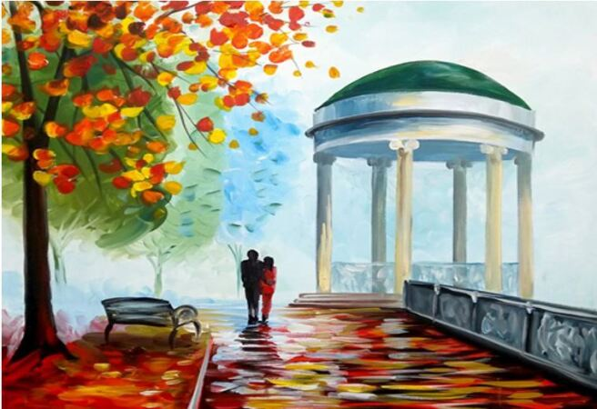 Снимка: Нарисувай си есенна романтика