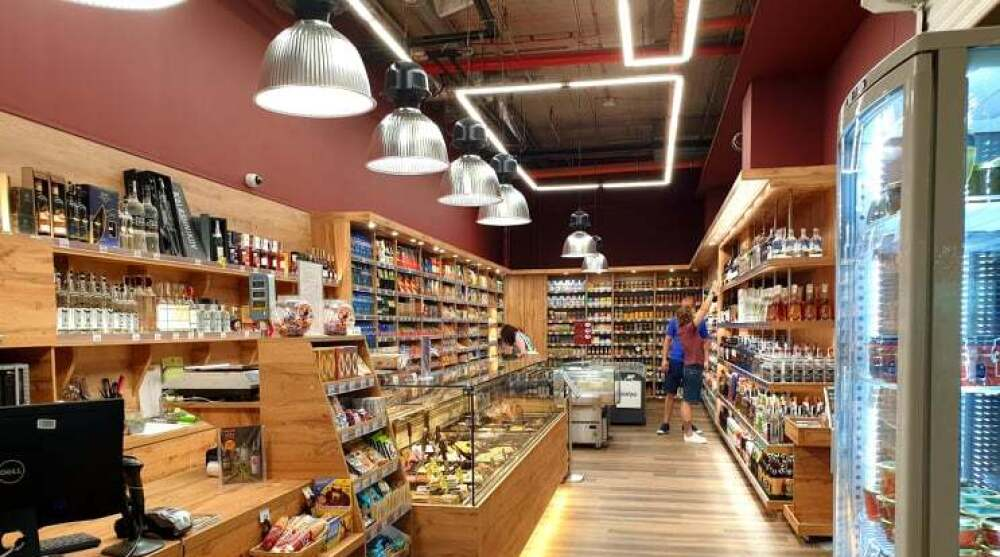 Picture: Welcome to the renovated Berezka store in Mega Mall
